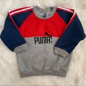 Kids Puma Crewneck